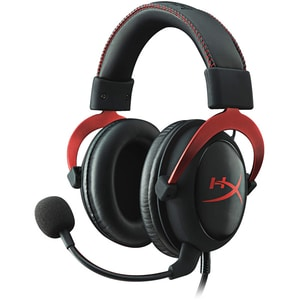 Casti Gaming HyperX Cloud II, 7.1 surround, multiplatforma, USB, 3.5mm, negru-rosu CASKHXHSCPRD