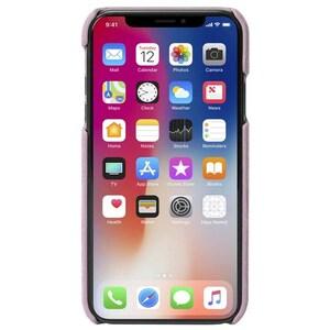 Carcasa de protectie KRUSELL Broby pentru iPhone XS, Roz AHSKRS61436