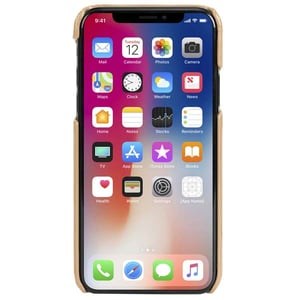 Carcasa de protectie KRUSELL Sunne 2 Card pentru iPhone XS Max, Bej AHSKRS61503
