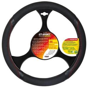 Husa volan auto LAMPA GT-Sport LAM33133, negru AUTLAM33133