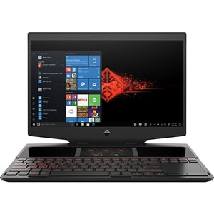 "Laptop Gaming HP Omen 2S 15-dg0007nq, Intel Core i7-9750H pana la 4.5GHz, 15.6"" Full HD Touch, 16GB, SSD 2x512GB, NVIDIA GeForce RTX 2070 8GB, Windows 10 Home, negru LAP7QB64EA"