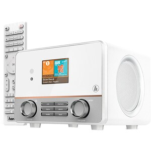 Radio cu internet HAMA IR115MS, Wi-Fi, alb LMC54856