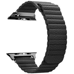 Bratara pentru Apple Watch 42mm, PROMATE Lavish-42, negru BRTLAVISH42BK