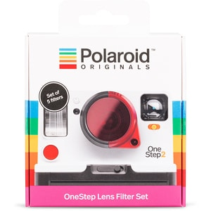 Film Instant color POLAROID Originals, Metallic Red Frame, pentru Polaroid 600 ASL4858