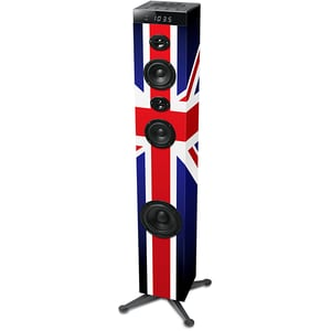 Sistem audio MUSE Tower M-1280 BTK, 120W, Bluetooth, NFC, USB, Radio FM, negru DOCMSE00092