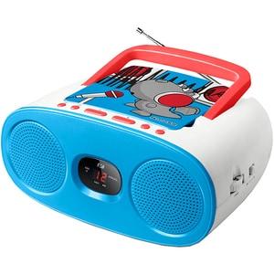 Radio CD portabil MUSE M-20 KDB, FM, albastru RCDMSE00132