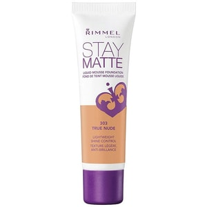 Fond de ten RIMMEL London Stay Matte, 303 True Nude, 30ml MCH34788818303