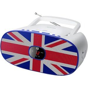Radio CD portabil MUSE MD-205 UK, FM, alb RCDMSE00068