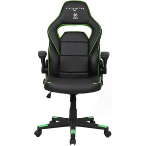 Scaun gaming MYRIA MG7404GR, negru-verde GAMMG7404GR