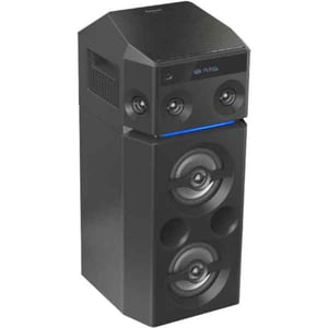Sistem audio High Power PANASONIC SC-UA30E-K, 300W, Bluetooth, USB, CD, Radio FM, Full Karaoke, negru MINSCUA30EK