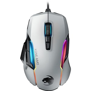 Mouse Gaming ROCCAT Kone AIMO REMASTERED, 16000 dpi, alb MOU191470