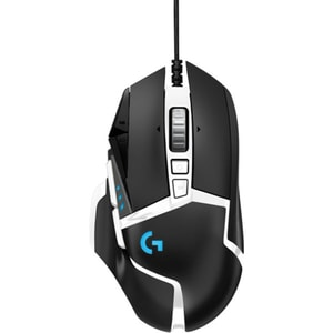 Mouse gaming LOGITECH G502 SE HERO High Performance, 16000 dpi, negru-alb MOU910005729