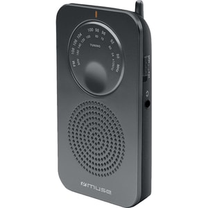 Radio portabil MUSE M-01, FM, negru LMCMSE00040