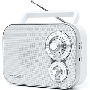 Radio portabil MUSE M-051 RW, FM, alb LMCMSE00044