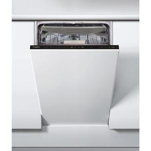 Masina de spalat vase incorporabila WHIRLPOOL WSIP 4O33 PFE, 6th Sense, 10 seturi, 9 programe, 45cm, Clasa A+++, negru MSVWSIP4O33PFE