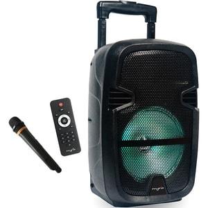 Boxa portabila cu microfon Wireless MYRIA MY2612, Bluetooth, USB, Radio FM, negru HPSMY2612