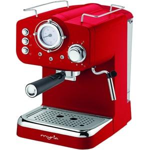 Espressor manual MYRIA MY4052, 1100W, 15 bar, rosu EXSMY4052