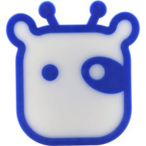 Lampa de veghe MYRIA MY5203, 0.32W, forma vaca, albastru LVEMY5203