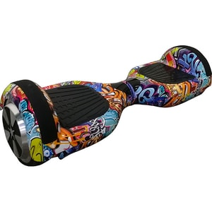 Hoverboard MYRIA MY7012BG Junior, 6.5 inch, graffiti + geanta transport inclusa JUCMY7012BG