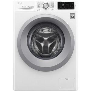 Masina de spalat rufe frontala LG F4J5VN4W, 6 Motion, 9kg, 1400rpm, Clasa A+++, alb MSFF4J5VN4W