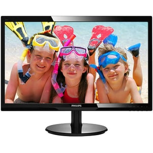"Monitor LED TN PHILIPS 246V5LDSB, 24"", Full HD, 60Hz, negru MON246V5LDSB"