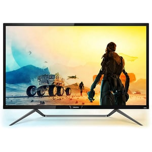 Monitor Gaming LED PHILIPS 436M6VBPAB, 42.51'', 4K, 60Hz, Ambiglow, negru MON436M6VBPAB