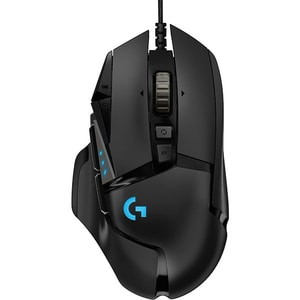 Mouse gaming LOGITECH G502 HERO High Performance, 16.000 dpi, negru MOU910005470