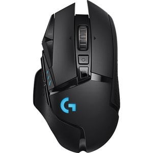 Mouse Gaming Wireless LOGITECH G502 Lightspeed, 16000 dpi, negru MOU910005567