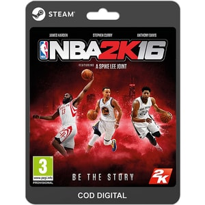 NBA 2K16 PC (licenta electronica Steam) SRVCDM1010070