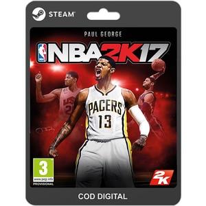 NBA 2K17 PC (licenta electronica Steam) SRVCDM1010071