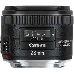 Obiectiv foto CANON EF 28mm f/1.8 USM OBIEF28F18USM