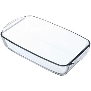 Vas termorezistent PASABAHCE Borcam 1069299, 34x19cm, sticla, transparent OLE1069299