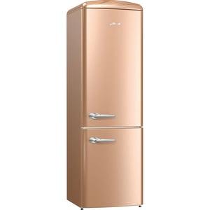 Combina frigorifica GORENJE ORK192CO, FrostLess, 322 l, H 194 cm, Clasa A++, cappuccino CBFORK192CO