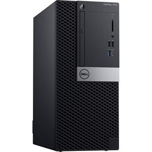 Sistem Desktop PC DELL OptiPlex 7070 MT, Intel® Core™ i7-9700 pana la 4.7 GHz, 8GB, 1TB, Intel® UHD Graphics 630, Windows 10 Pro CLCN007O7070MT