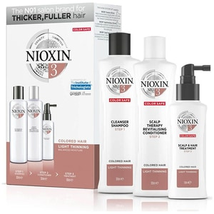 Set NIOXIN Sistem No.3: Sampon, 300ml + Balsam de par, 300ml + Tratament pentru par, 100ml PAK187404