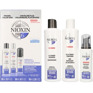 Set NIOXIN Sistem No.6: Sampon, 300ml + Balsam de par, 300ml + Tratament pentru par, 100ml PAK187409