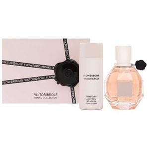 Set cadou VIKTOR & ROLF Flowerbomb: Apa de parfum, 50ml + Lotiune de corp, 50ml PAK199319