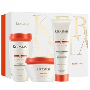 Set cadou KERASTASE Nutritive: Sampon, 250ml + Masca de par, 200ml + Tratament Leave-in, 150ml PAK202881