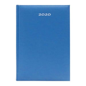 Agenda datata ARTIBEST 2020, A5, 168 file, hartie offset alba, albastru PBHEJ201201