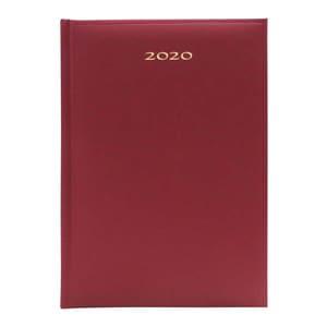 Agenda datata ARTIBEST 2020, A5, 168 file, hartie offset alba, bordo PBHEJ201208