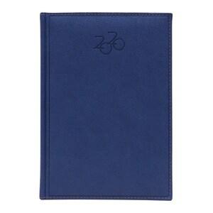 Agenda datata DAKOTA 2020, A5, 168 file, hartie ivory, albastru PBHEJ201412