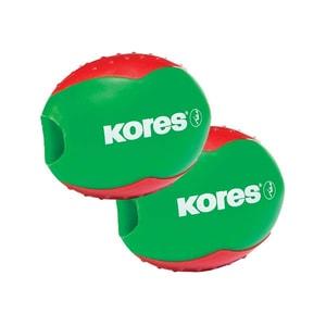 Ascutitoare KORES Beetle, plastic, diverse culori PBIKS35822