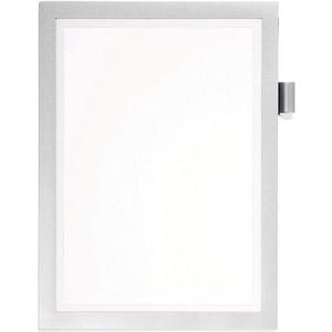 Display magnetic DURABLE Note, A4, 1 bucata, argintiu PBPDB499323