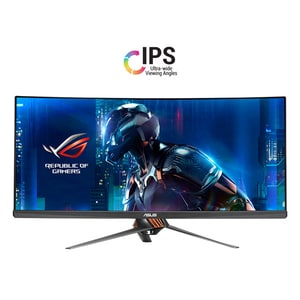 "Monitor Gaming curbat LED IPS ASUS ROG Swift PG348Q, 34"", QHD, 100Hz, titanium MONPG348Q"