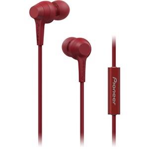 Casti PIONEER SE-C1T, Cu Fir, In-Ear, Microfon, rosu CASSEC1TR
