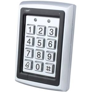 Tastatura control acces PNI DK101, stand alone, cititor de card, gri-negru SHMPNIDK101
