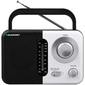 Radio portabil BLAUPUNKT PR7BK, FM/AM, Jack 3.5mm, negru-argintiu LMCPR7BK