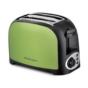 Prajitor paine ROHNSON R2170, 2 felii, 750W, verde-negru PRJR2170