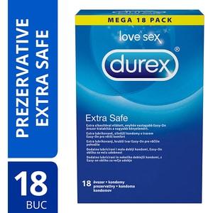 Prezervative DUREX Extra Safe, 18buc PRV3045230