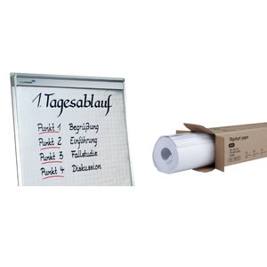 Hartie Flipchart LEGAMASTER, 100 x 65 cm, 5 topuri/cutie, alb PBPPS0080